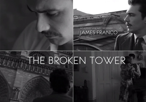 """The Broken Tower"" – Cinematic Poetry written, directed and starring James Franco"
