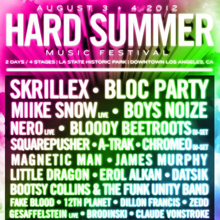 HARD SUMMER Music Festival 2012 Line-Up, Dates, and Dubstep