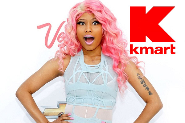Nicki Minaj signs on to bring Lifestyle Brand to K-Mart‏