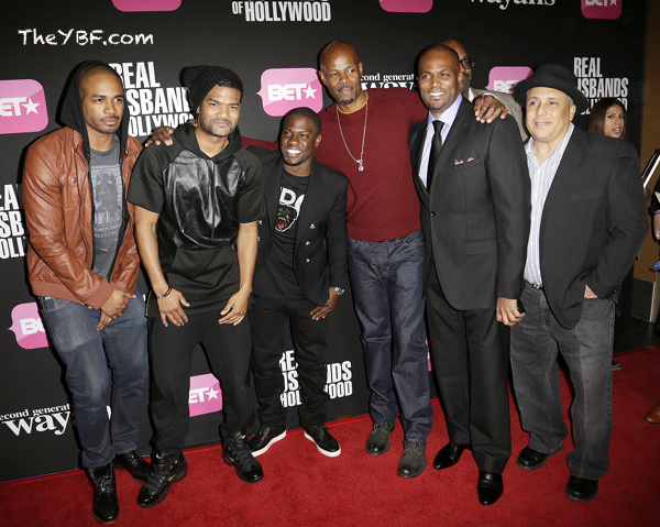 Entire Wayans Family 2013 Celebs hit the Red Car...
