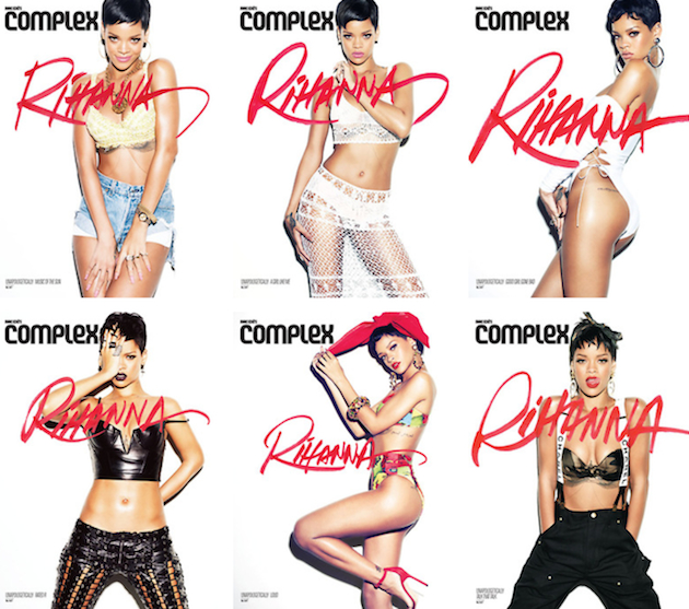 Seven Albums, Seven Covers: Witness Rihanna's Evolution‏