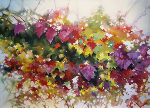 Abundance, Noon     Alison Jardine oil on canvas 60 x 48