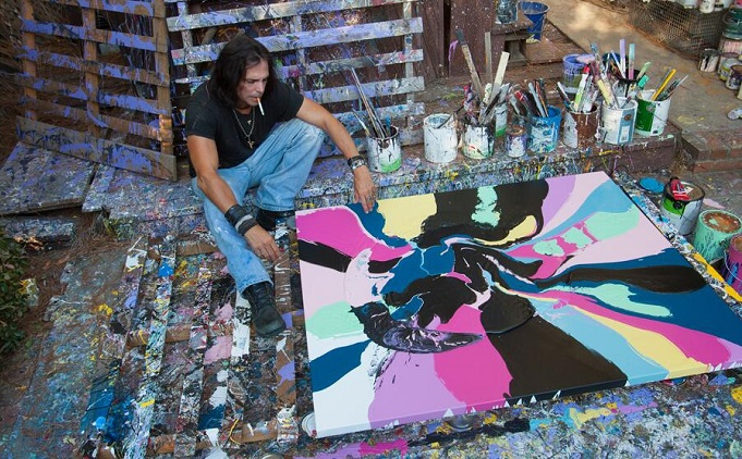 Iconic actor Richard Grieco is back… on canvas!