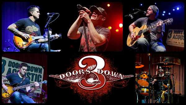 3 DOORS DOWN ACOUSTIC – SONGS FROM THE BASEMENT THE LEVITY BALL INTERVIEW