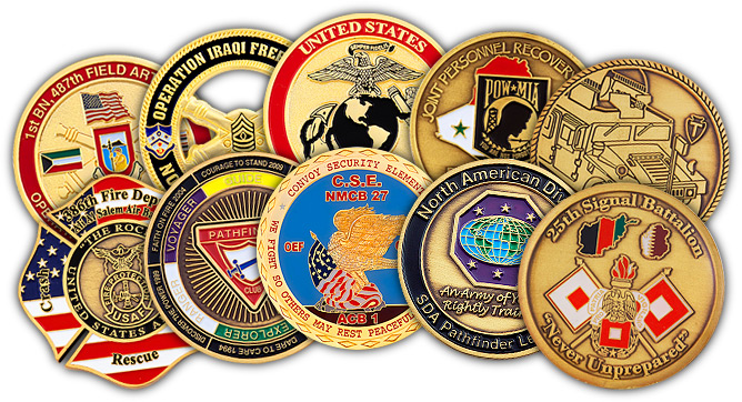 ADRENALINE CHALLENGE COINS ARE THE HOT ITEM TO OWN!