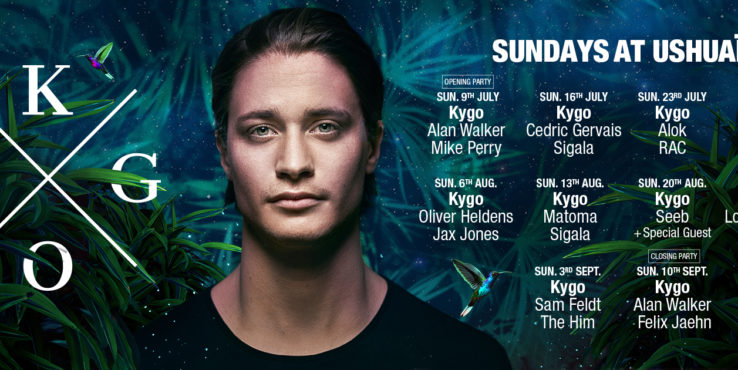 KYGO ANNOUNCED AS USHUAÏA IBIZA BEACH HOTEL'S LATEST SUPERSTAR RESIDENT