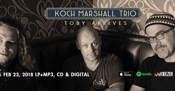 MASCOT LABEL GROUP LAUNCHES PLAYERS CLUB IMPRINT WITH RELEASE OF KOCH MARSHALL TRIO ALBUM TOBY ARRIVES ON FEBRUARY 23, 2018